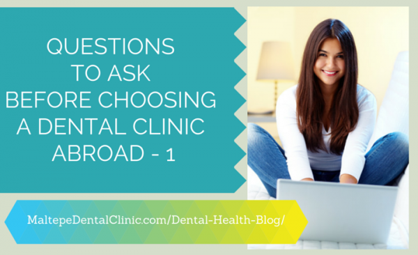 questions to ask dental clinic