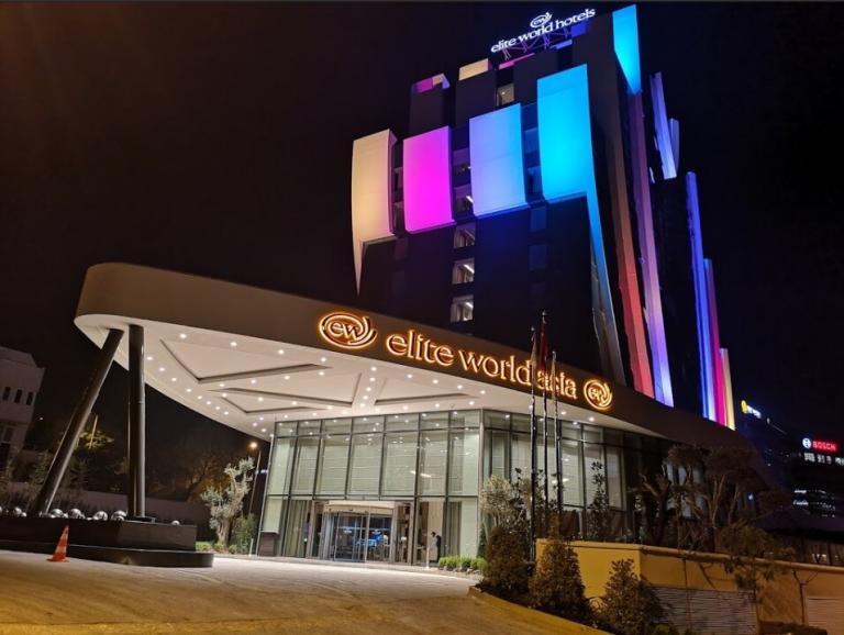 elite world asia hotel eingang